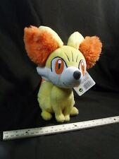 "TOMY Pokemon Fennekin fire fox fennec 8"" Plush Stuffed Animal new with tags"