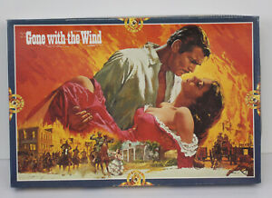 Vtg Gone with the Wind Jigsaw Puzzle FNR Movies Cinema Classics 800 Pc Sealed