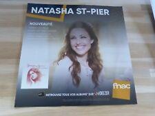 NATASHA ST-PIER - Thérèse De Lisieux !!! PLV 30 X 30 CM !!I DISPLAY