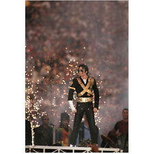Michael Jackson King of Pop Performing at Super Bowl 8 x 10 Inch Photo