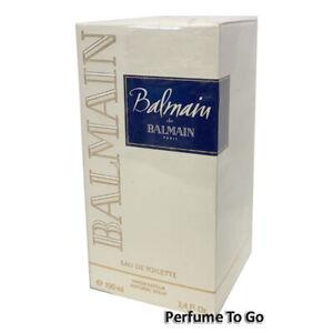 BALMAIN de BALMAIN WOMEN 3.4 oz (100ml) Eau de Toilette EDT Spray NEW & SEALED