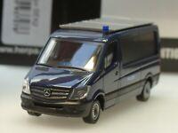 Herpa Mercedes Sprinter SEK GSG9 Spezialeinsatzkommando grau 937283-1:87