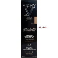 Vichy Dermablend 3d Correction 30ml 45 Gold X2