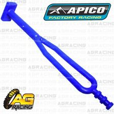 Apico Blue Rubber Side Stand Kickstand Headlight Battery Strap For KTM Enduro