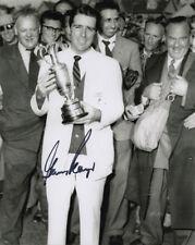 Gary Player, abierto Champion 1959 Muirfield, firmado 10x8 pulgadas Foto. cert. de autenticidad.