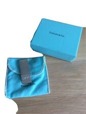 Tiffany And Co Sterling Silver Money Clip In Box