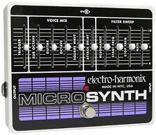 Pédales d'effets Electro-Harmonix pour guitare et basse