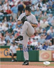 New York Yankees Mike Mussina Autographed Signed 8x10 Photo JSA COA #2