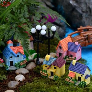 Garden Bridge Stair Ornament Miniature Decoration European Castle Resin Decor