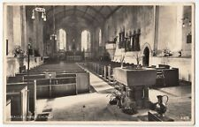 Hampshire; Beaulieu Abbey Church Interior, New Forest RP PPC, 1966 PMK By Salmon