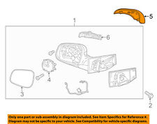 Chevrolet GM OEM Spark Door Side Rear View-Mirror Cover Cap Trim Right 95260946