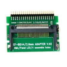 """CF Card Compact Flash Card to 2.5"""" Male IDE 44Pin LED PCB Converter Adapter"""