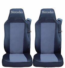 2 x Sitzbezüge Schonbezüge Bezüge Schwarz Blau Lux LKW DAF XF105 XF 105 CF LF