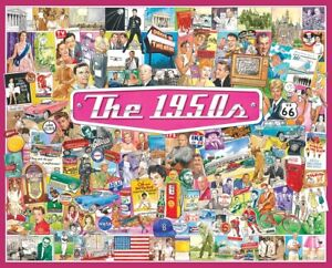 Jigsaw puzzle Americana Memories of Fifties 1950's 1000 Piece NEW Made in USA