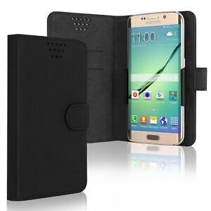 Handyhülle Acer Liquid Zest Plus Oppo F1s schwarz Hülle, Flip Case, Etui