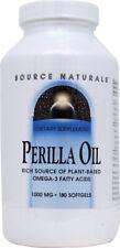 Perilla Oil, Source Naturals, 90 gelcap