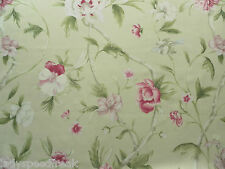 Zoffany Curtain Fabric FLOWERING TREE 3.4m Cream/Pink Floral Design 340cm