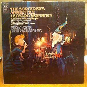 Leonard Bernstein - The Sorcerer's Apprentice - Columbia vinyl LP two eye label