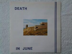 Disque vinyle maxi 45rpm DEATH IN JUNE