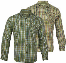 Unbranded Men's Check Regular Collared Casual Shirts & Tops