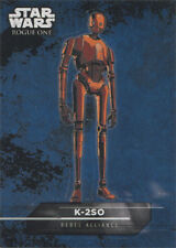 Star Wars Rogue One Mission Briefing Sticker Card 3 of 18 K-2SO