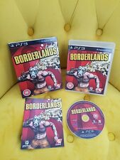 Borderlands PS3 With Sleeve PlayStation 3 Shooter Game *Immaculate*
