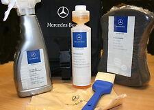Genuine Mercedes Benz Exterior Car Care Set Kit bag Cleaner Shampoo Rims
