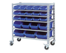 Metal Home Storage Units with Wheels