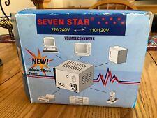 SevenStar TC100 Watt 110V to 220V Step Up/Down Transformer Amp Voltage Converter