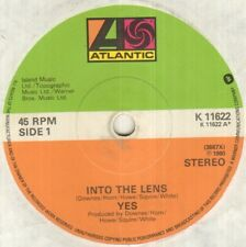 "YES Into The Lens 7"" B/W Does It Really Happen, K 11622, Plain White Sleeve"