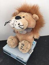 RARE ME TO YOU ANIMAL TATTY TEDDY BEAR ON BOX - DRESS UP - LION