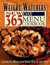 Weight Watchers New 365-Day Menu Cookbook: Complete Meals for Every Day of the Y