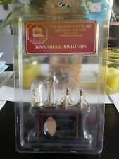 Vintage Dollhouse Furniture Town Square 1:12 FIREPLACE SET & Accessories New