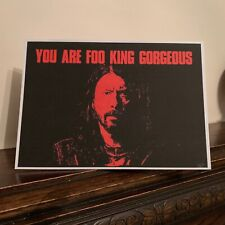 Romantic Valentines Card Dave Grohl Foo Fighters 13cm x 18cm
