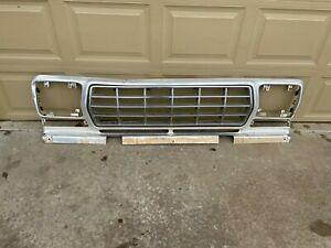 1978 1979 Ford Pickup Truck Grill Shell Housing Aluminum Grille Assembly Front