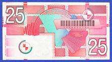25 Vijfentwintig Gulden, Niederlande / Holland, Nederlandsche Bank, 1989, vzgl.