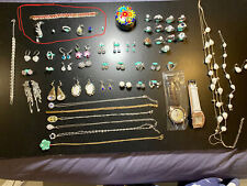 bulk lot Mix sterling silver And Gold Plated Jewellery