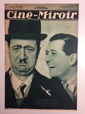 CINE MIROIR N°423 12 MAI 1933 COUV RAIMU ET PREJEAN