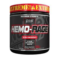 Nutrex Research HEMO RAGE BLACK Ultra Concentrate 252g gusto Fruit Punch