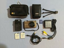 Nikon Coolpix S6000 14.2 MP Digital Camera with accessories - Brown