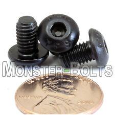 (10) M5 - 0.80 x 8mm Button Head Socket Caps Screws, 12.9 Alloy Steel ISO 7380