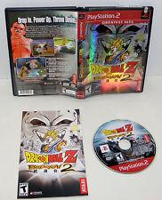 Dragon Ball Z: Budokai 2 (Sony PlayStation 2, 2003) Ps2