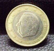 1 EURO Coin 1999 Belgium King Albert II