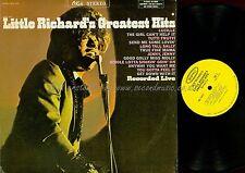 LP--LITTLE RICHARD--GREATEST HITS--RECORDED LIVE--OKM 12121--