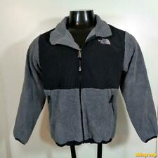 THE NORTH FACE Polyester/Nylon Fleece JACKET Boys Size L Black/gray zippered