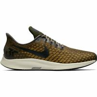 NEW Men's Nike Air Zoom Pegasus 35 Shoes Size: 6 Color: Thunder Grey/Dark Citron