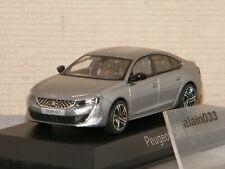 Echelle 1//43 NO 475806 Peugeot 508 de 2012 Aluminium Grey NOREV