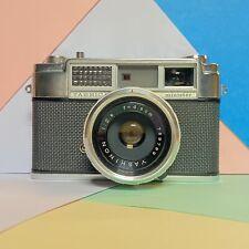 Yashica minister (1) 35mm Rangefinder Film camera Vintage, Working! Lomo Retro!