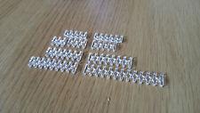 10pcs clair câbles ouvert Peigne Set pour 2 mm, 3 mm ou 4 mm gaine-Choisir N'importe 10