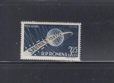 Romania 1958 Space Spunik Sc C56 Complete  mint never hinged